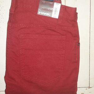 Boy's Tony Hawk 18 Skinny Stretch Red Jeans